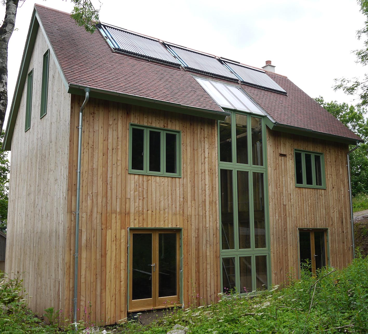 Self build shepton mallet mjw architects for Small new build homes