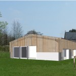 Barn Conversion, Crib House Farm, Back