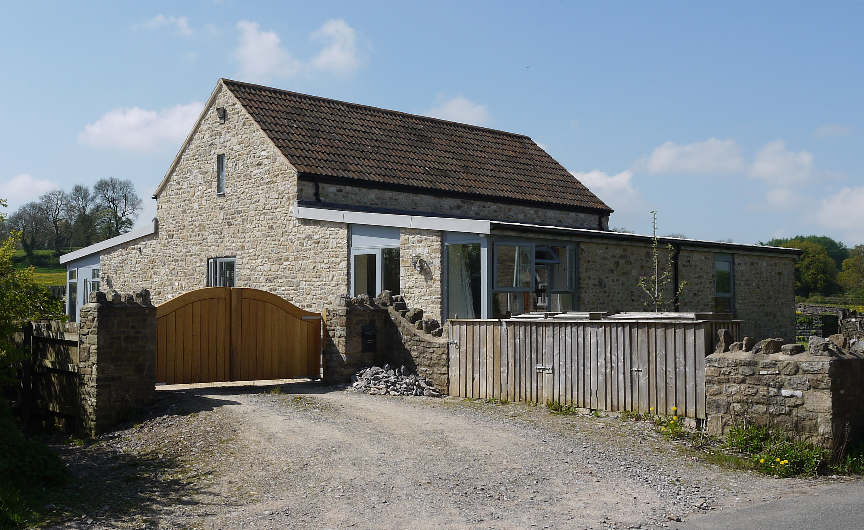 The winged barn conversion Frome Somerset | MJW Architects